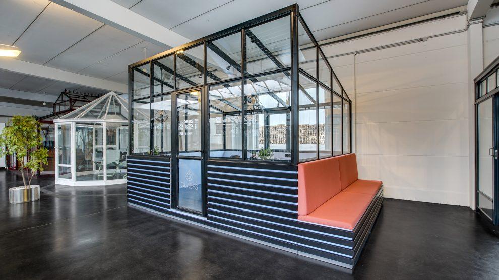 GLABES Musterhaus - Officepod - Glashaus - Glasbuero