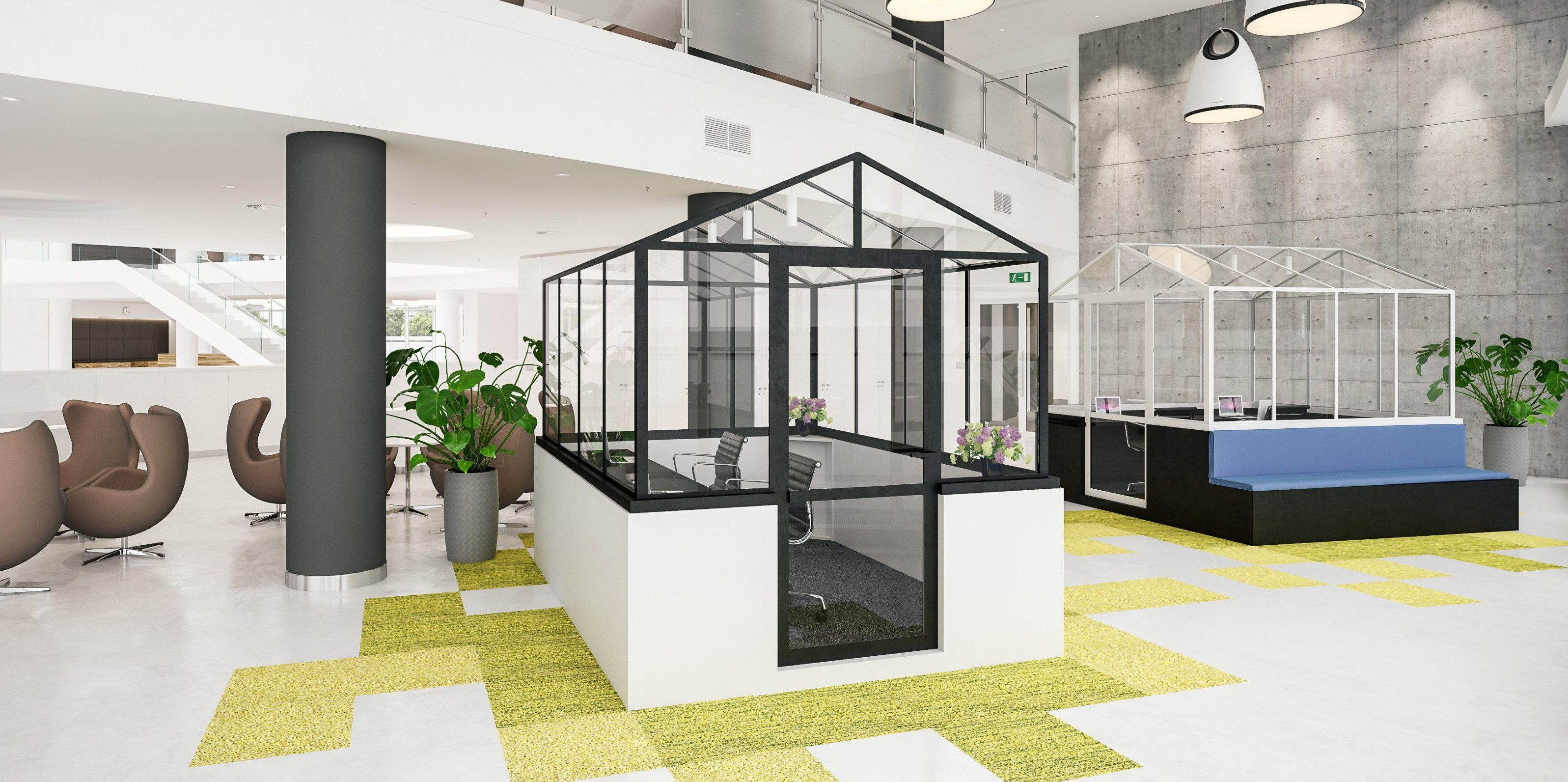 GLABES CoWorking-Module -Modell 2.0