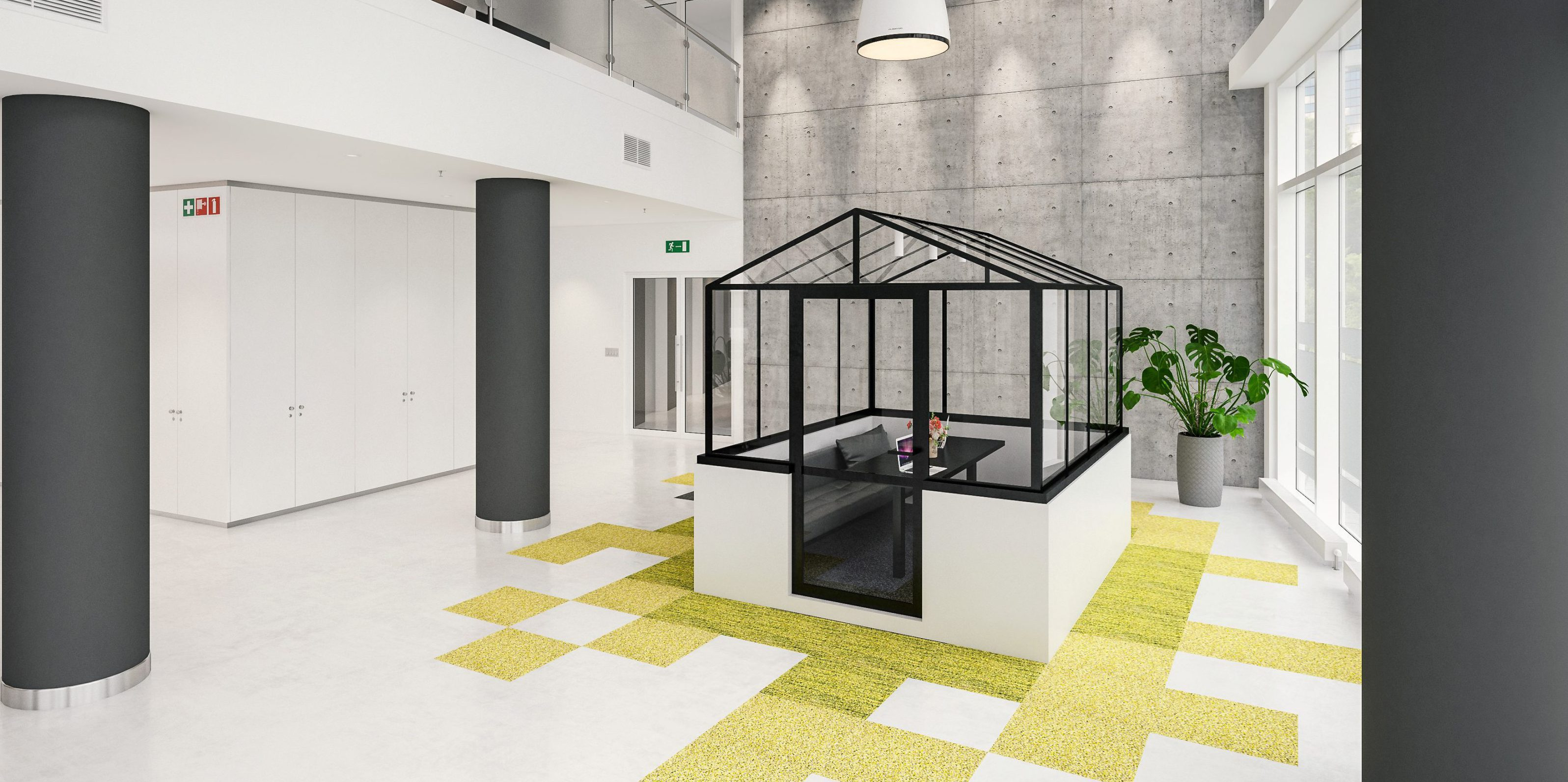 GLABES CoWorking-Module -Modell 2.1